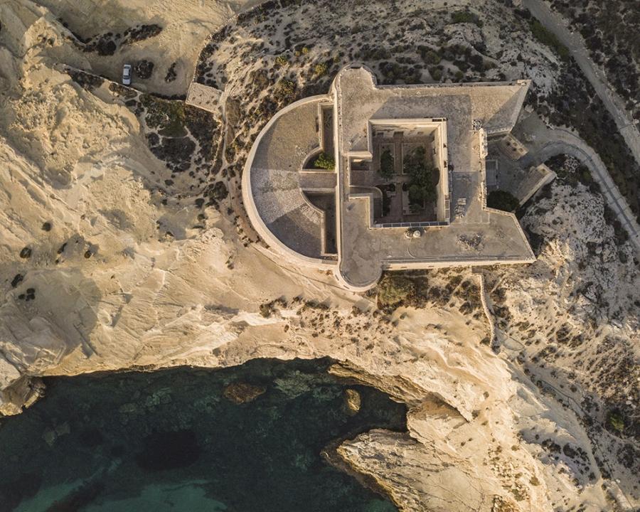 Fotografía aérea tomada por Emiliano Sánchez para Argos estudio.